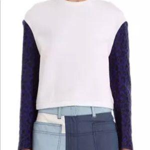 Phillip Lim Barneys Leopard Blue Sweatshirt 0